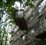 Výmena balkónov
