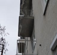 Pôvodný stav balkónov