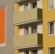 zábradlia balkónov