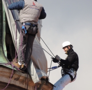 oprava strechy veže