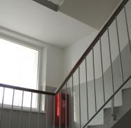 Zatepľovanie - schodisko bytového domu