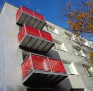 balkóny Ďatelinová