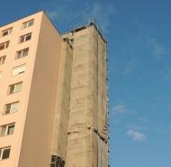 Priebeh stavby