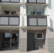 Balkóny s doskami Fundermax