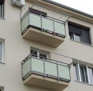 Zrekonštruované balkóny
