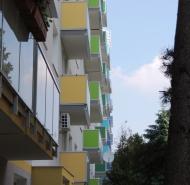 Farebné balkóny