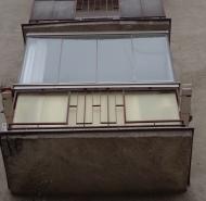 Balkón pred obnovou