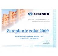 Ocenenie STOMIX