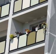 Detail na balkóny