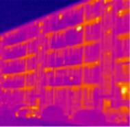 Termosnímka pred zateplením