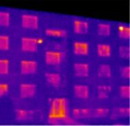 Termosnímka po zateplení