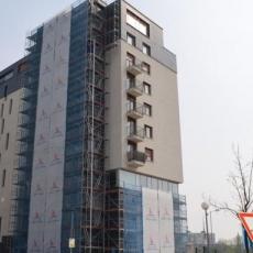 Oprava fasády Borie